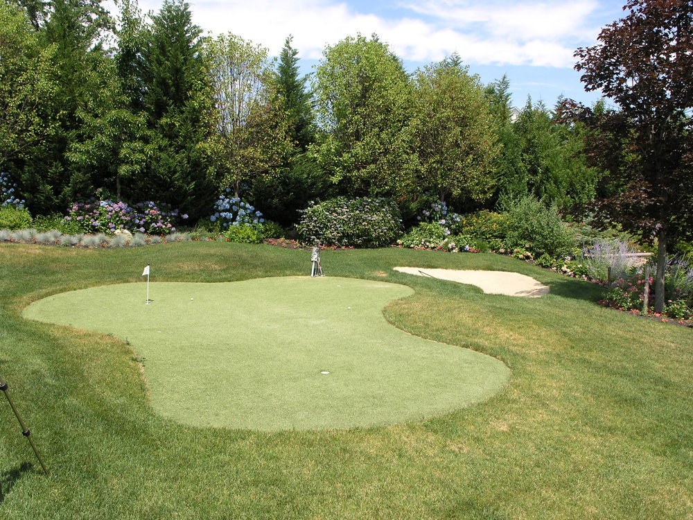 Professional golf course landscape design in Long Island, NY