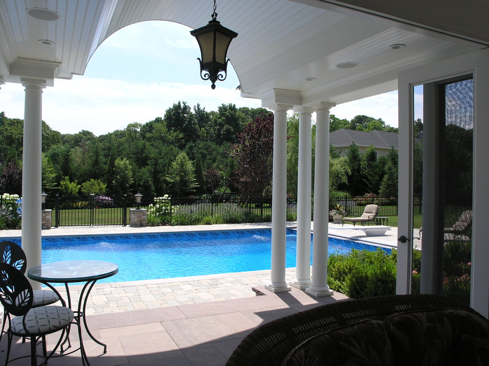 Professional pool house design company in Long Island, NY