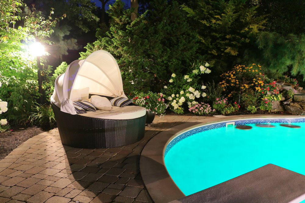 Top landscape lighting installation company in Long Island, NY