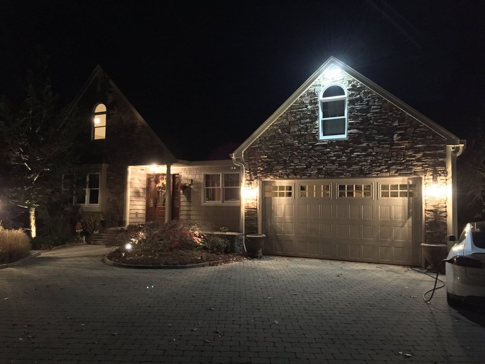 Experienced outdoor lighting installation in Long Island, NY