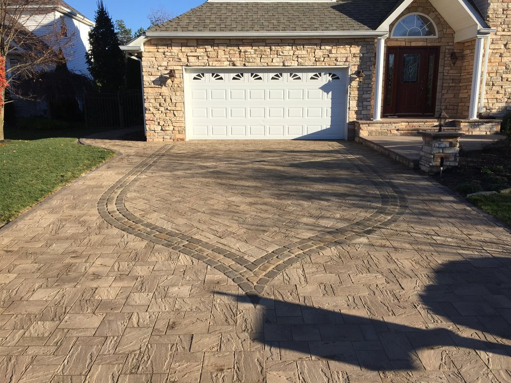 Custom driveway design company in Long Island, NY