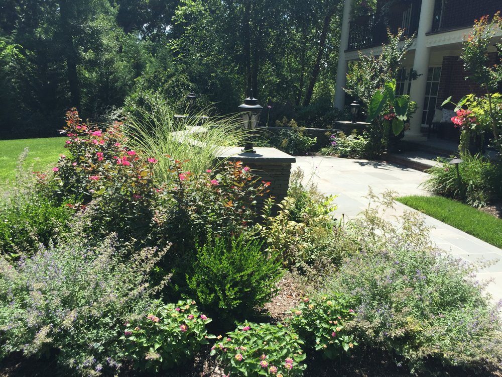 Top landscape architecture with plantings in Long Island, NY