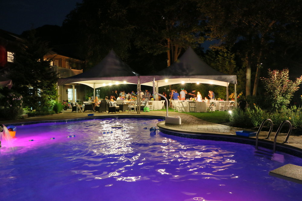 Professional pool area landscape design company in Long Island, NY