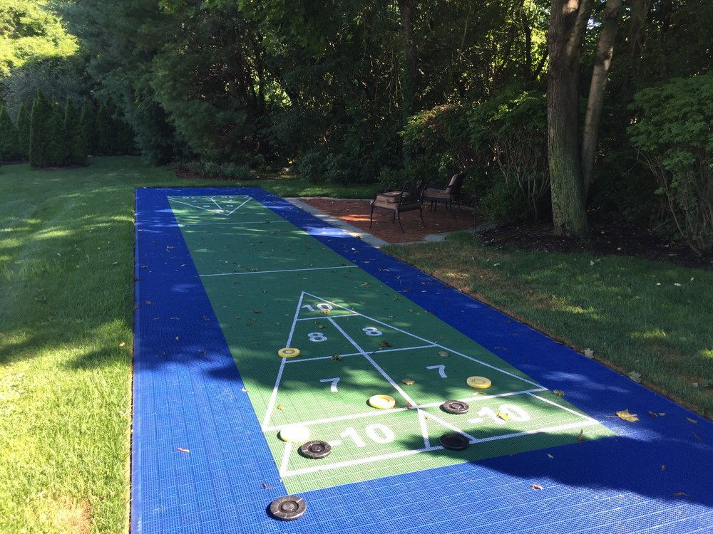 Professional outdoor gaming landscape design company in Long Island, NY
