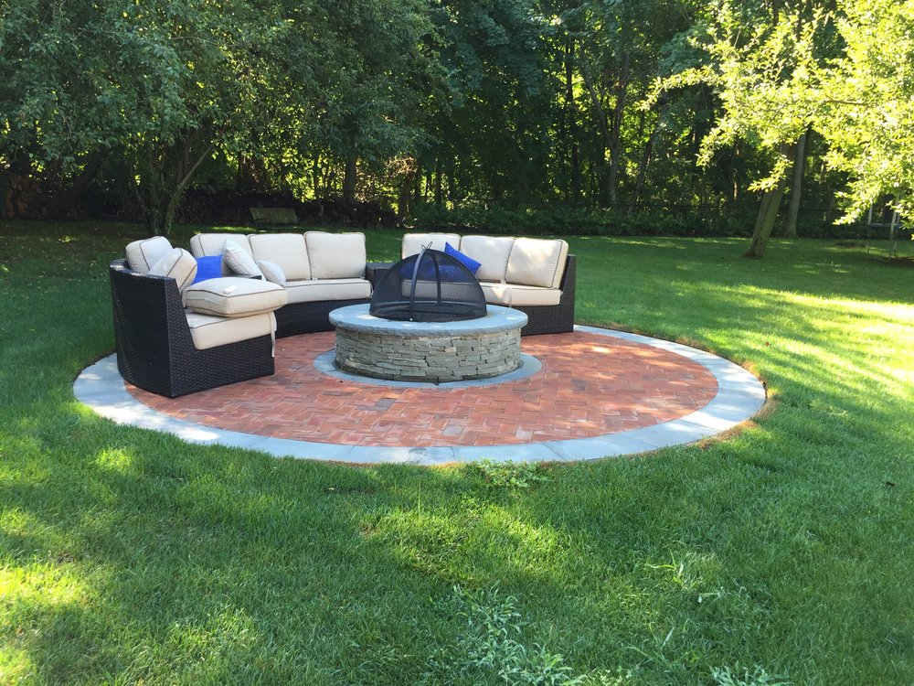 Professional outdoor patio landscape design company in Long Island, NY
