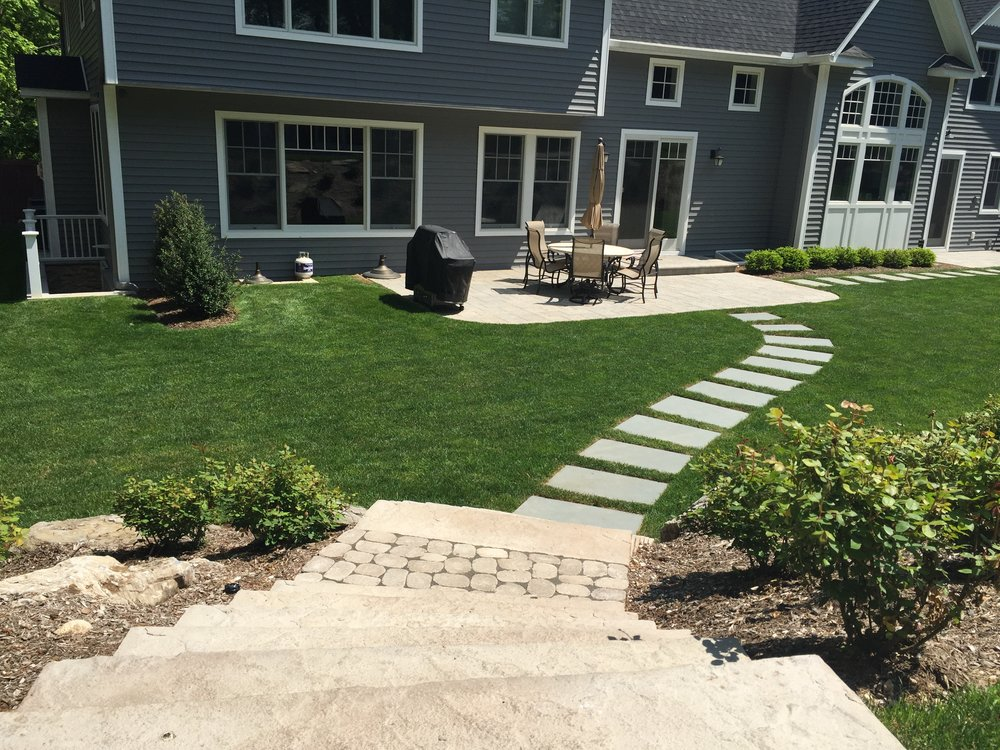 Professional walkway landscape design company in Long Island, NY