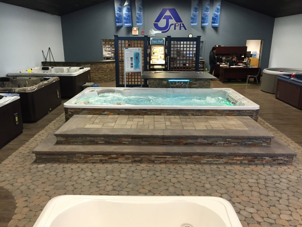 Professional indoor hot tub paver design company in Long Island, NY