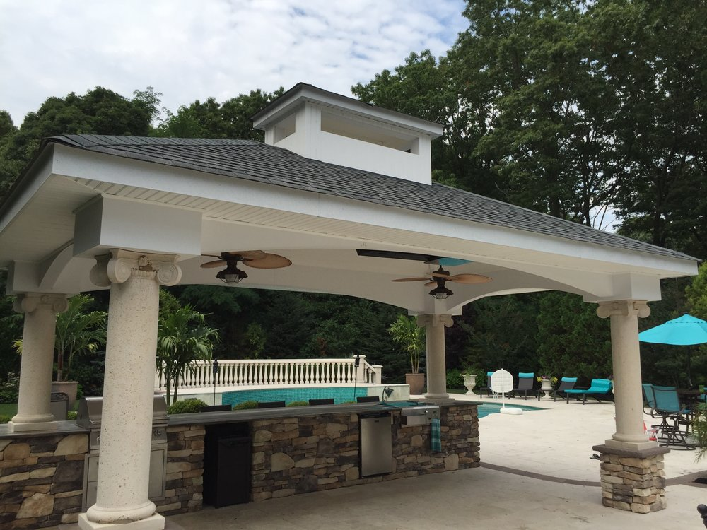 outdoor kitchen designs with pergolas. Top Paved Outdoor Kitchen Design In Long Island  NY Outdoor Kitchens Gary Duff Designs