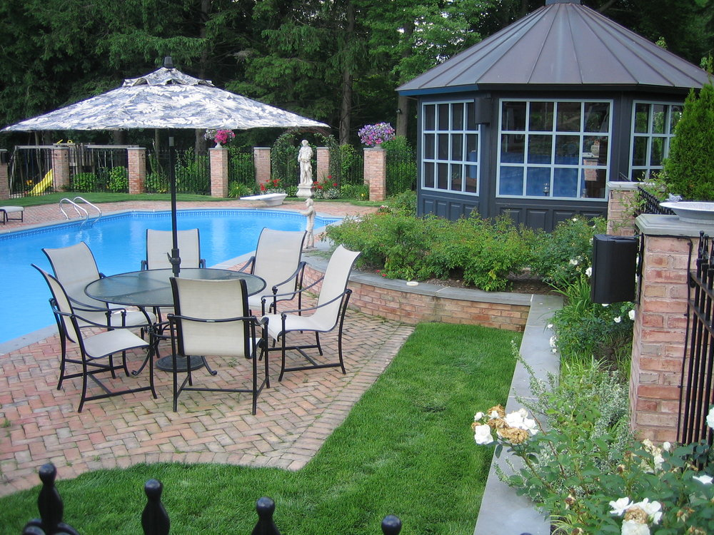 Experienced pool house design company in Long Island, NY