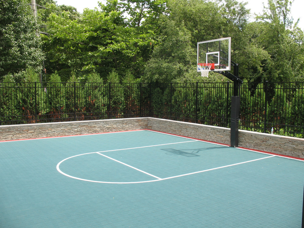 Basketball court installation company in Long Island, NY