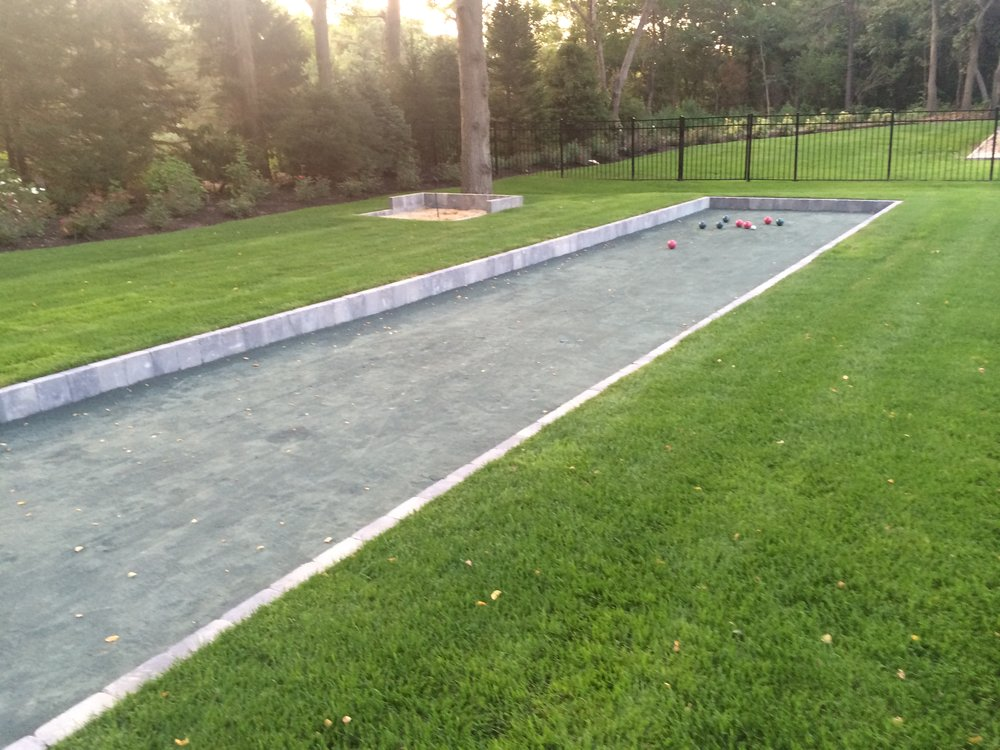 Top bocce ball landscape designer in Long Island, NY