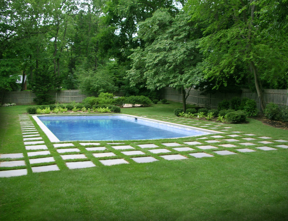 Landscape walkway design in Long Island, NY