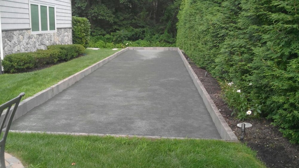 Professional bocce ball landscape designer in Long Island, NY