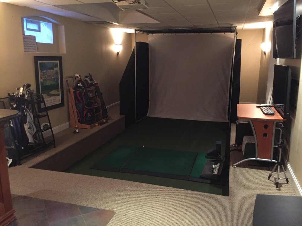 Professional indoor golf course design in Long Island, NY