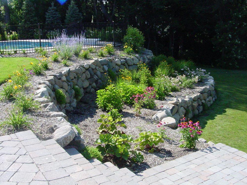 Using Masonry to Create Landscape Features on Long Island, NY