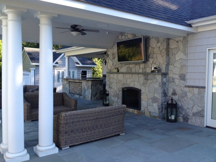 Patio Designs for Weatherproof Spaces in Huntington NY