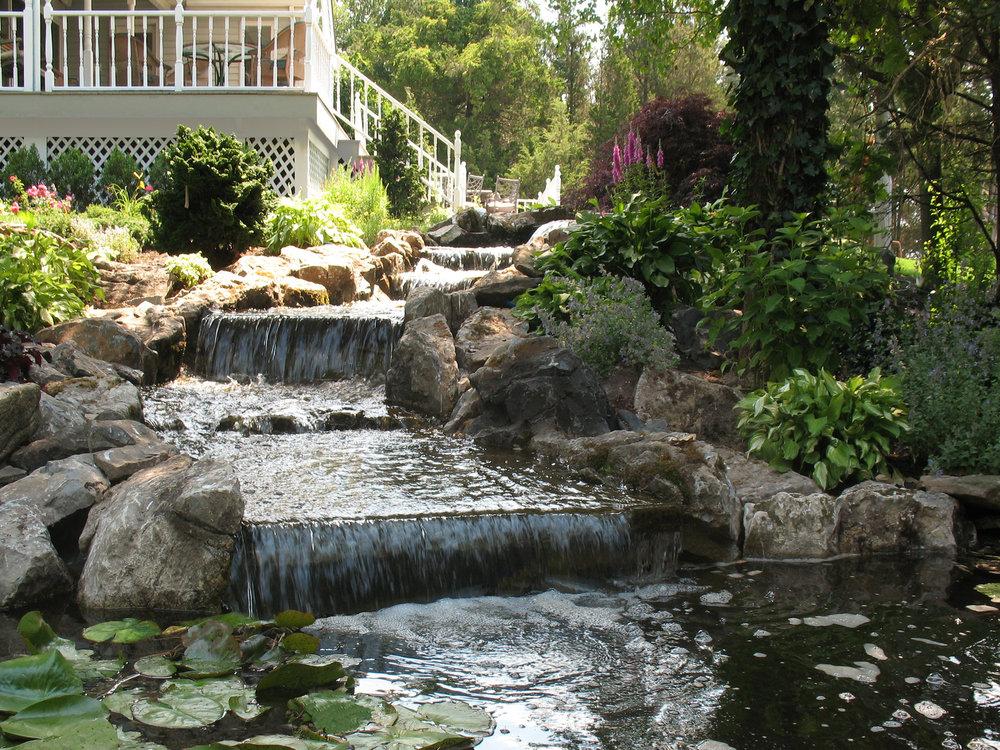 Backyard designs in Southampton, NY