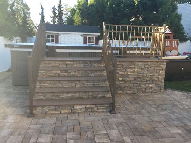 Patio masonry ideas in Holbrook, NY