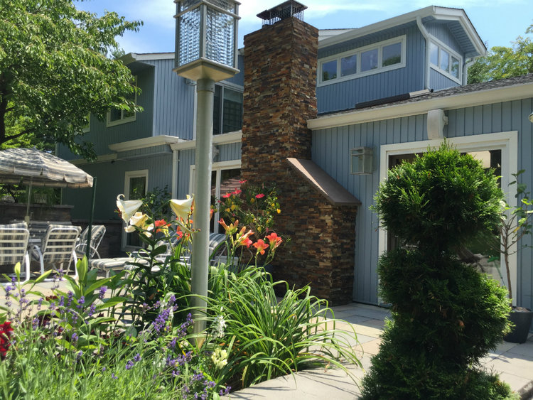 Tired of Minimalism? More is More with these Traditional Patio Designs in Setauket, NY