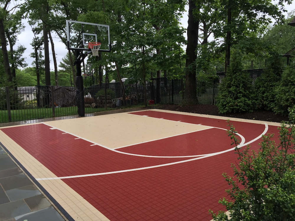 The Best Game Court Designs for Your Port Jefferson NY Backyard