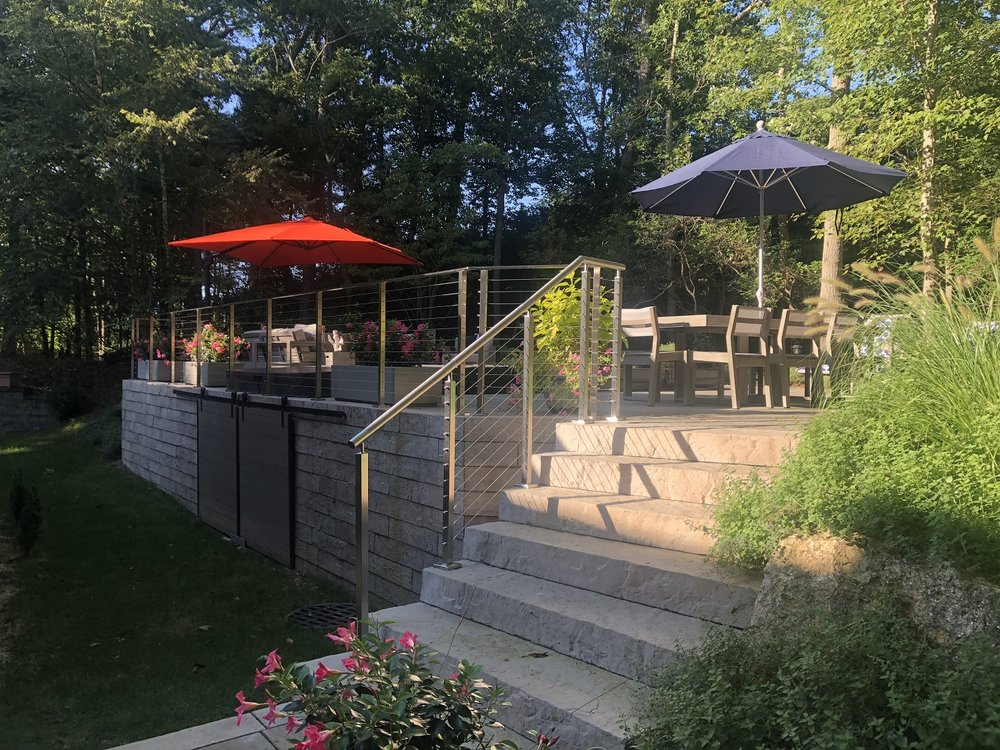 Stunning patio ideas in Oyster Bay NY