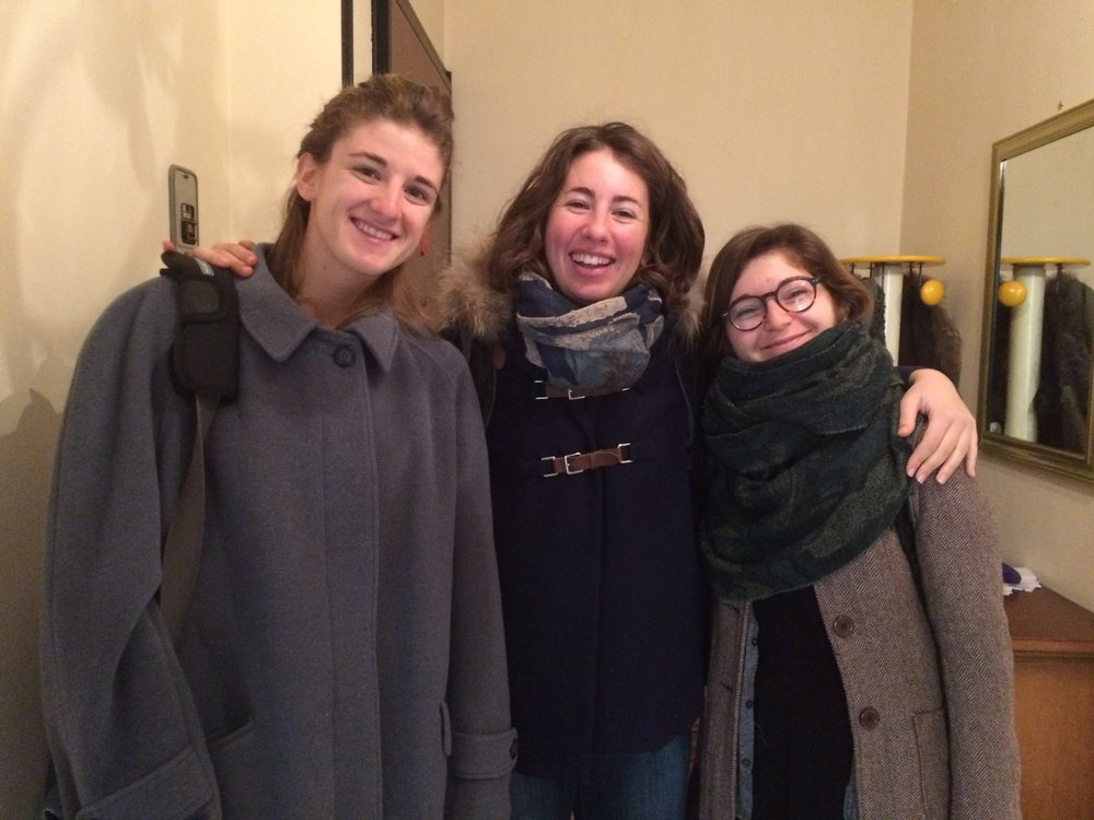 The girls in Bra