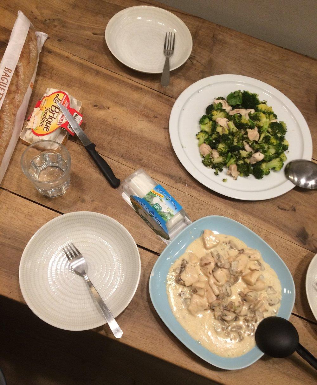 Dinner in Lyon
