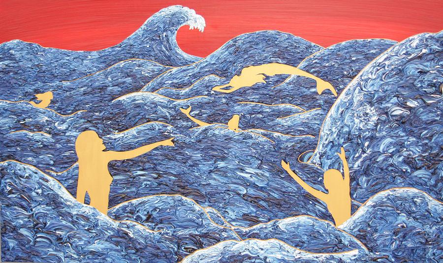"""Mermaids Playing"" by Antonio Wehrli"