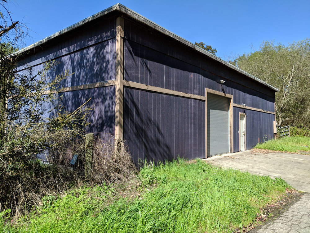 Barn on property.