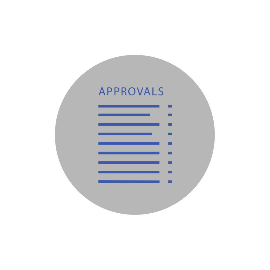 COORDINATE APPROVALS Lenders, inspectors and other parties quickly approve request.