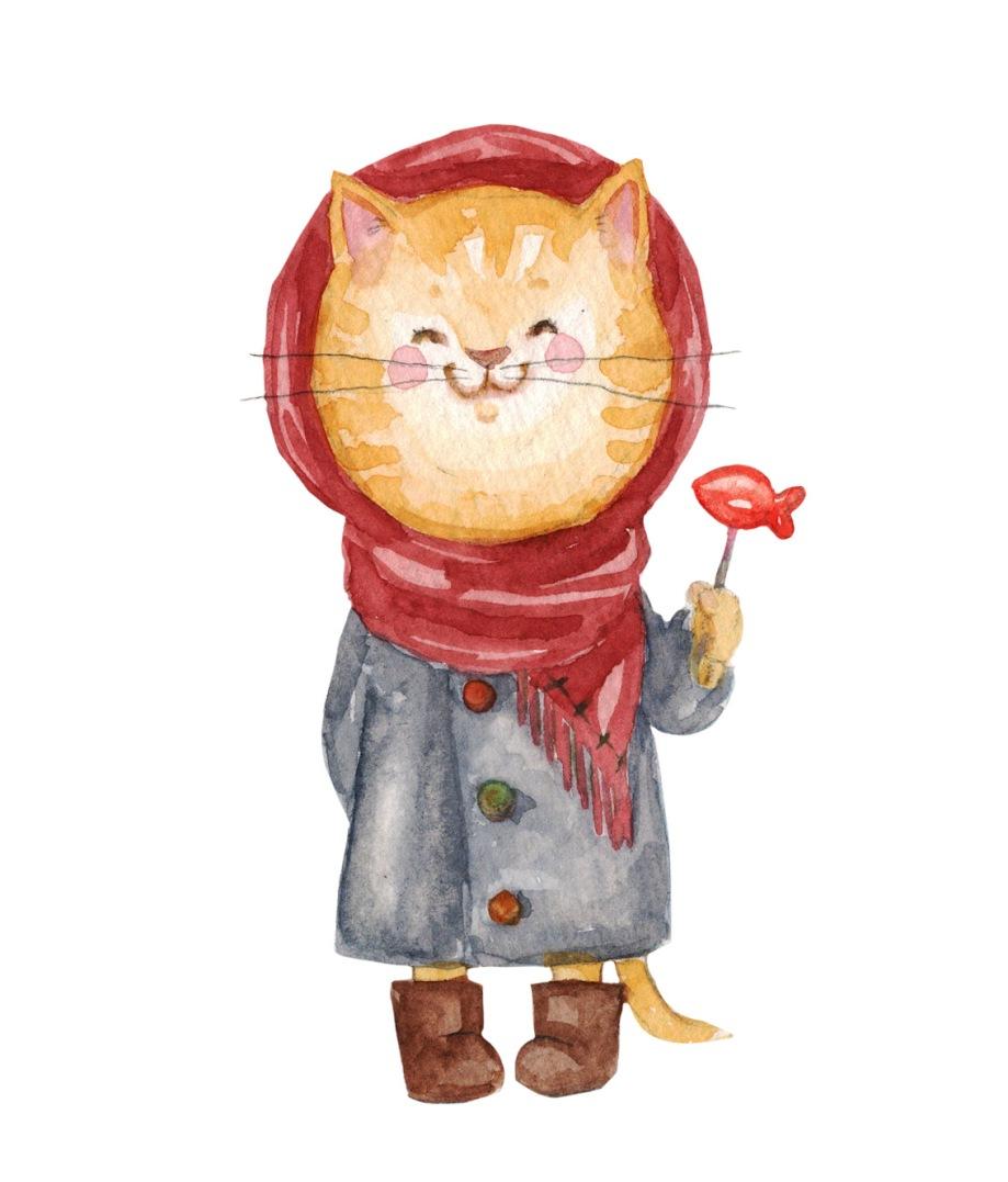 xmas card cats_ girly.jpg
