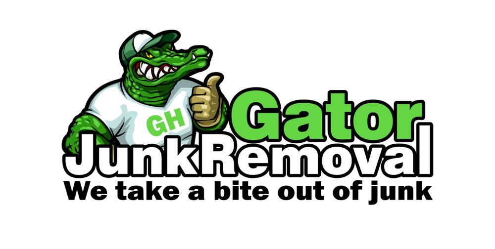 Corporate Identity for  Gator Junk Removal .