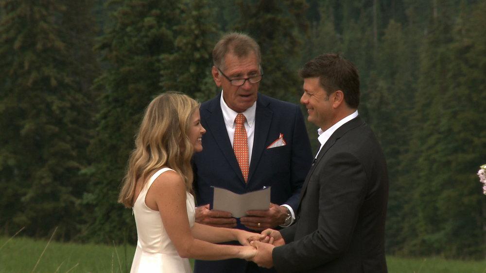 Jennifer and Rich - Beaver Creek Wedding Deck
