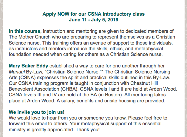 You'll find  details and videos  about the CSNA training program on our website: