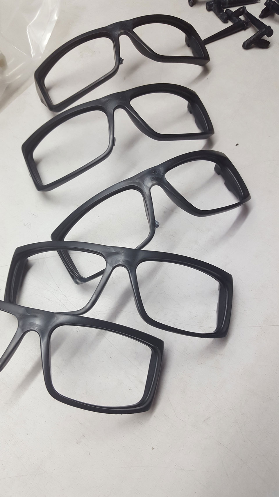 Greenius™ bioplastic formed into injection moulded sunglasses frames