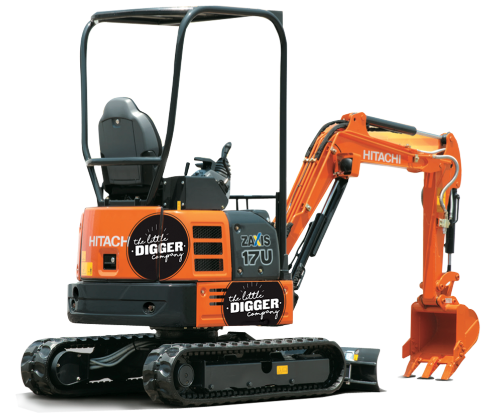 1.8T Mini Digger, Small Digger Hire Tight Access Excavation and Earthworks from Puhoi, Warkworth, Matakana to Mangawhai.png
