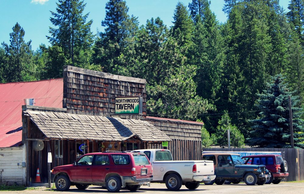 The Northwoods Tavern is the main local watering hole