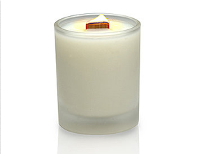 Wooden wicks are an inexpensive way to differentiate between candle brands or ranges.