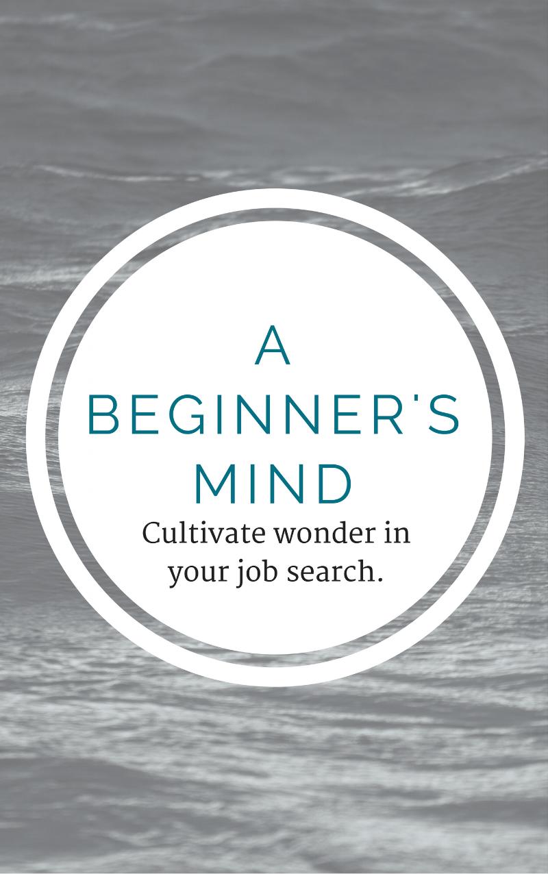 job search beginners mind