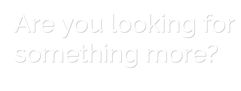 find your purpose e-mail