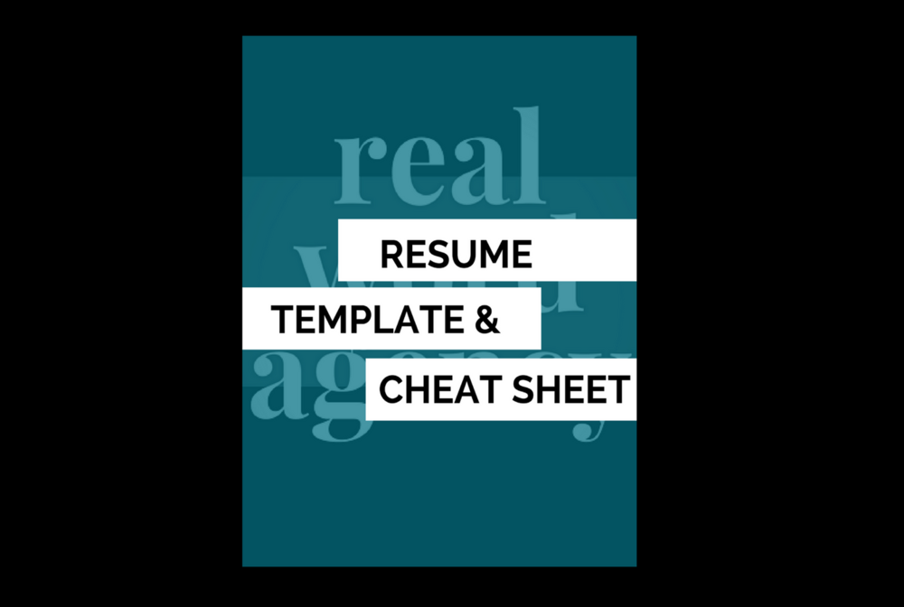 GET MY FREE RESUME TEMPLATE & CHEAT SHEET.  -