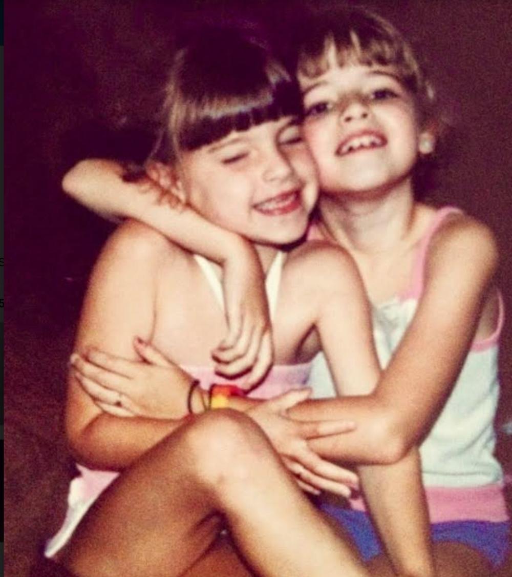Dani and her sis.