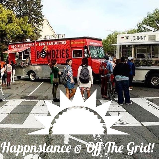 Join us at @offthegridsf tomorrow, 4/26, from 6:30pm-8:00pm on Waller and Stanyan! 🎈🎈🎈