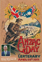 2015 ANZAC Day Booklet