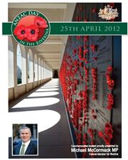 2012 South West Slopes ANZAC Day Booklet