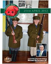 2012 Snowy Mountains ANZAC Day Booklet