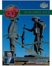 2012 MIA ANZAC Day Booklet