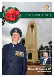 2011 MIA ANZAC Day Booklet