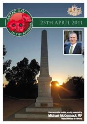2011 South West Slopes ANZAC Day Booklet