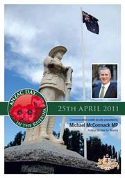 2011 Snowy Mountains ANZAC Day Booklet